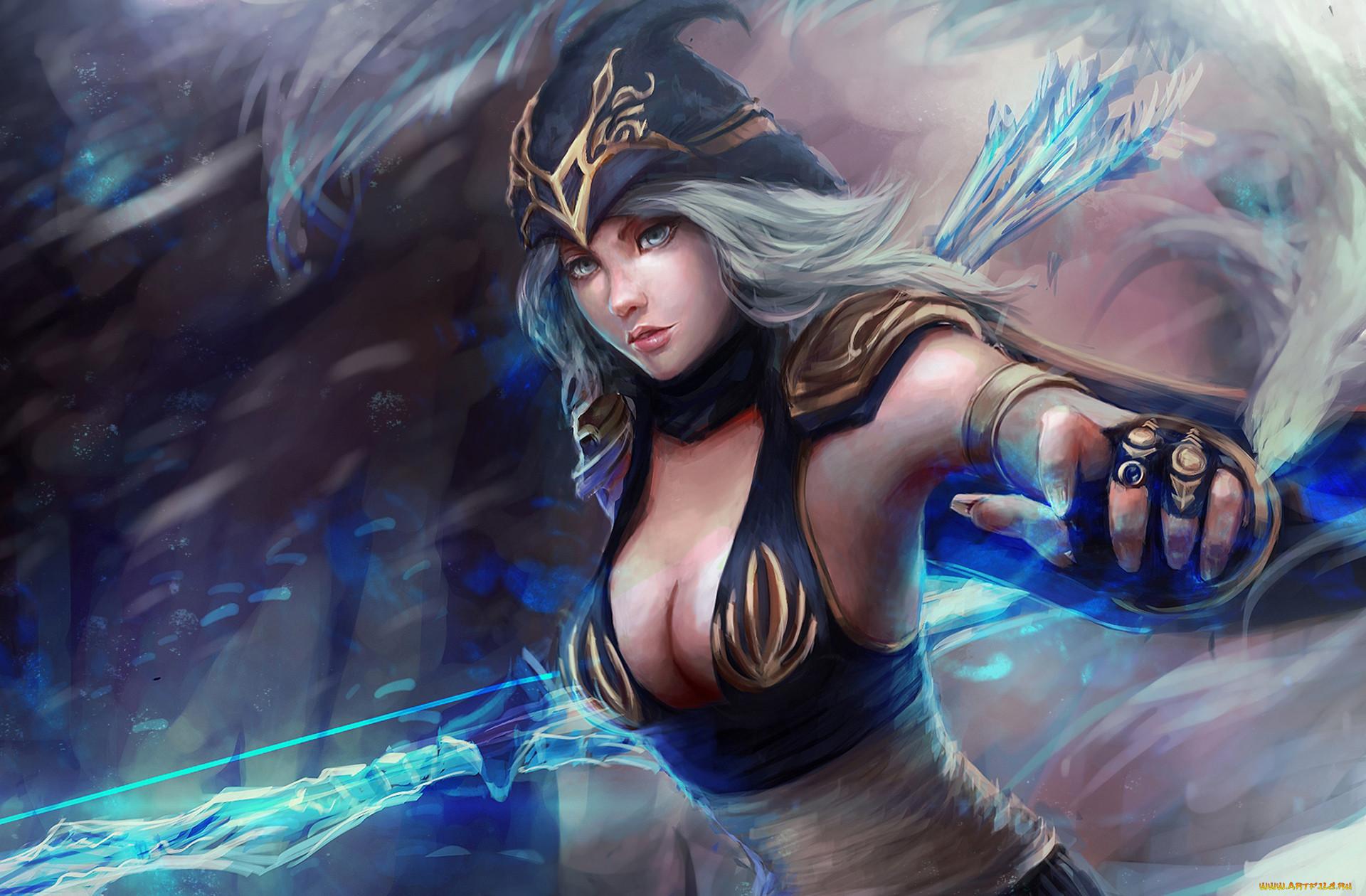 Картинки героев из игры лига легенд одежда